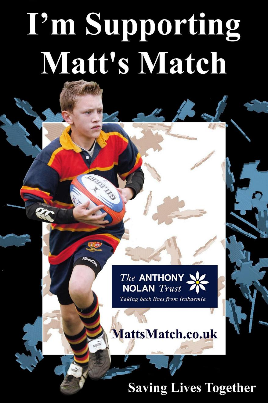 Please support Matt's Match